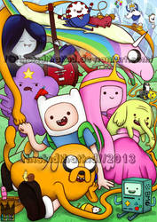 Adventure Time : Land of Ooo Crew by thiskidthatkid