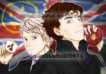 Sherlock (BBC) : End Game by thiskidthatkid