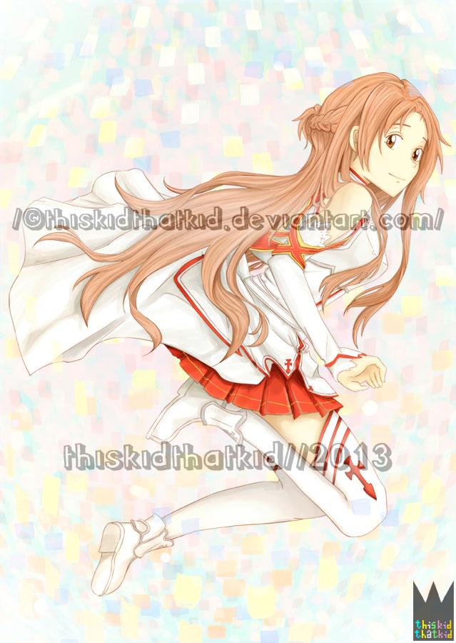 Asuna Yuuki: Render by thiskidthatkid