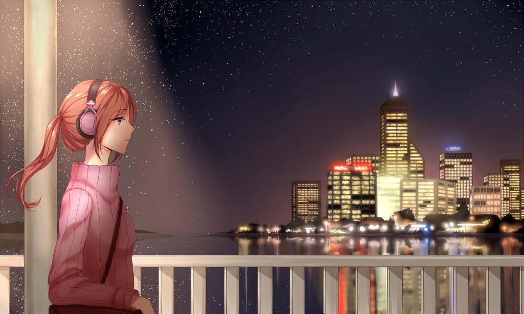 City Lights by meri-o