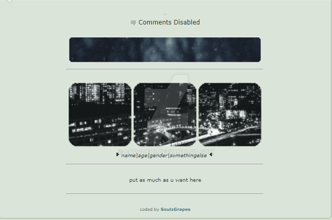 f2u simple dark city vibes (NON CORE) by Carodemi