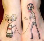 pet zombie tattoo