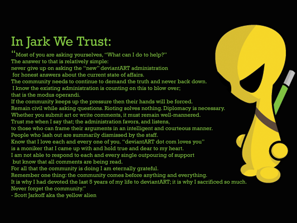 In Jark We Trust by neo-tek