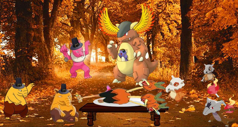 A Pokemon Thanksgiving by Hinatazuk