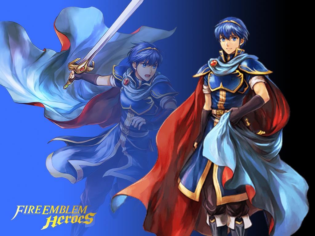 fire emblem heroes marth wallpaper by russell4653 on