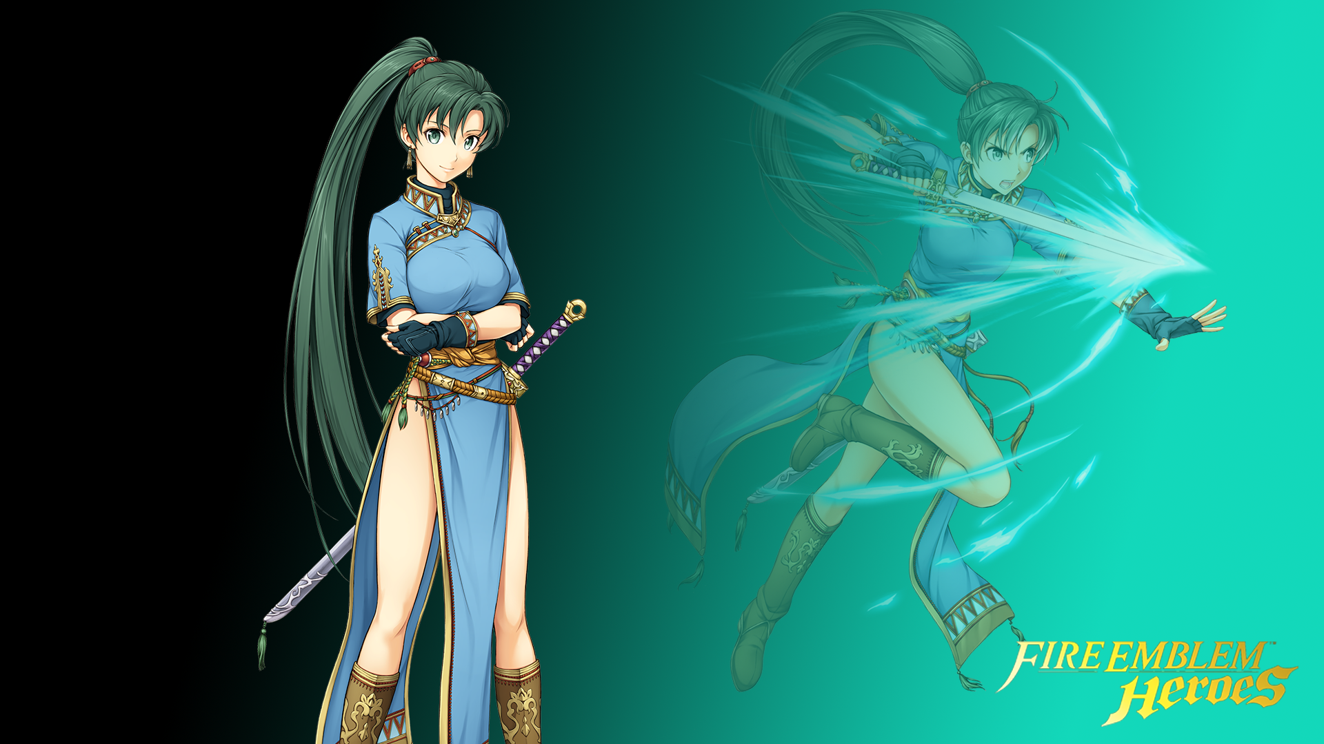 Fire Emblem Heroes Lyn Wallpaper 1920x1080 Res By Russell4653