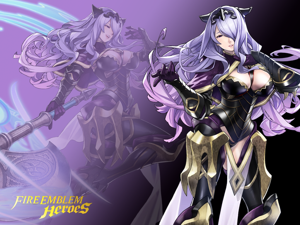 Fire emblem heroes camilla wallpaper by russell4653 on for Fe camilla