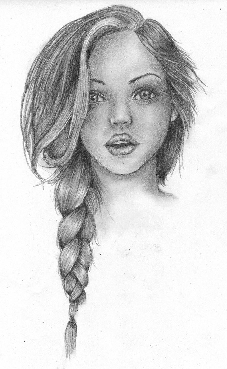 Pretty woman by ilikeyourdad on deviantart for Pretty sketches