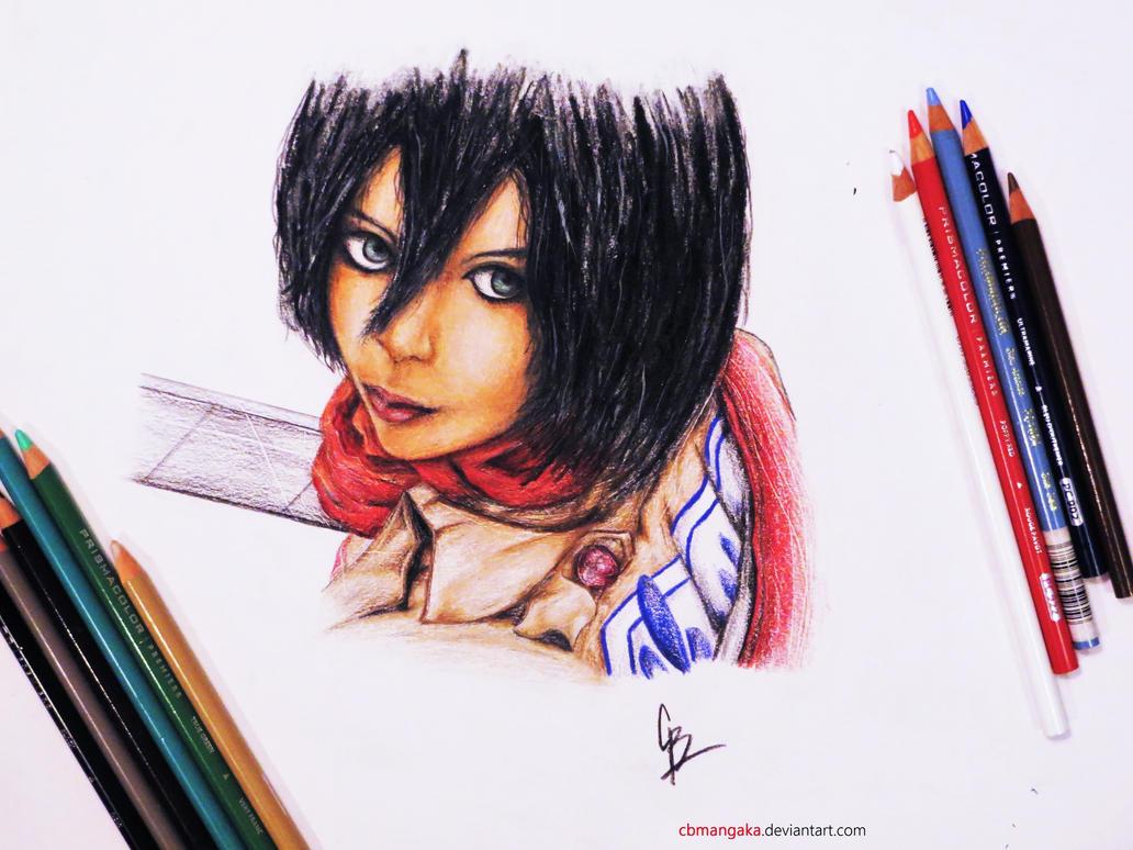 Mikasa Ackerman - Attack on titan by cbmangaka
