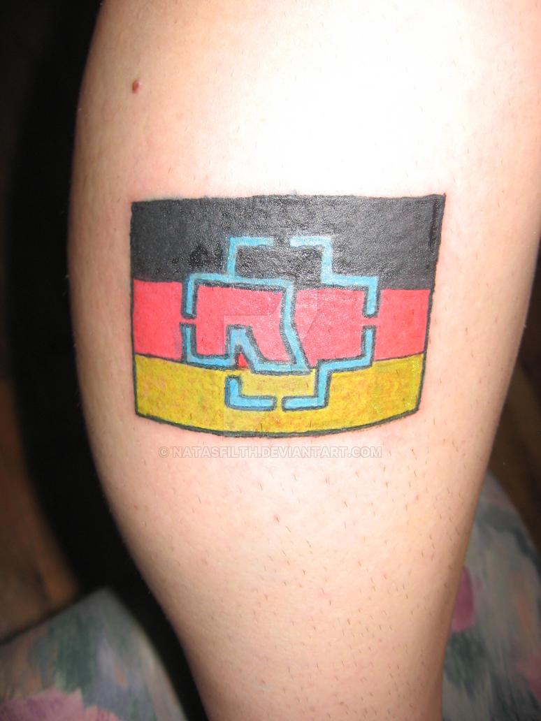 rammstein german flag tattoo by natasfilth on deviantart rh natasfilth deviantart com german american flag tattoo german canadian flag tattoo