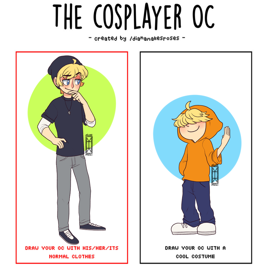 cosplayer meme by MilkyMichi