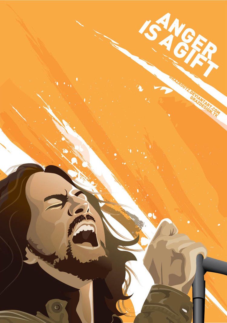 anger is a gift 2 by grazrootz