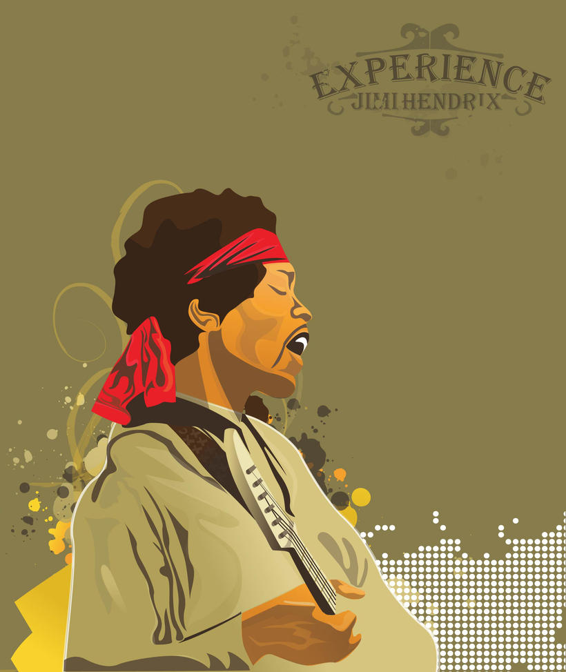 hendrix experience by grazrootz