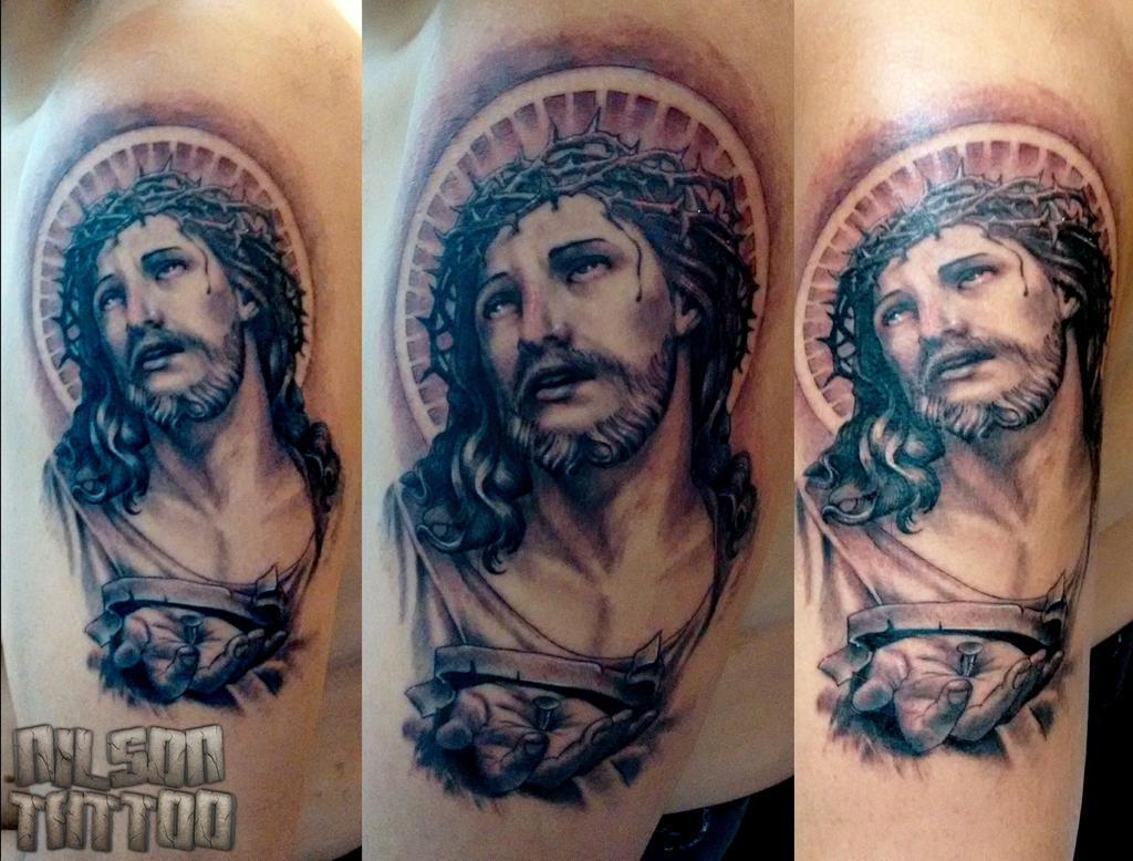 Tattoo Jesus Cristo by 2face-nilson on DeviantArt
