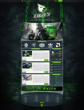 Eagle gaming template - FOR SALE