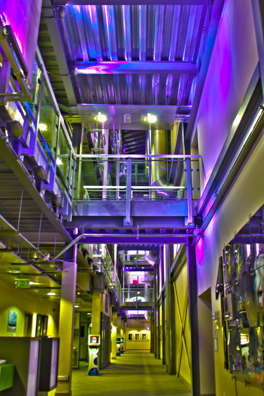 HDR Media Factory UCLan #2 by ScarlettPhotography