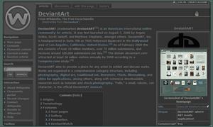 Wikipedia Eyesaver