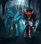 Chrysalis and Sombra