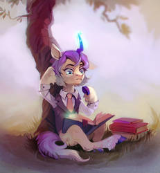 Under the tree by DearMary