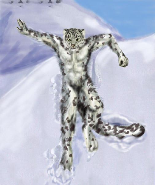 Snow Leopard by corvox