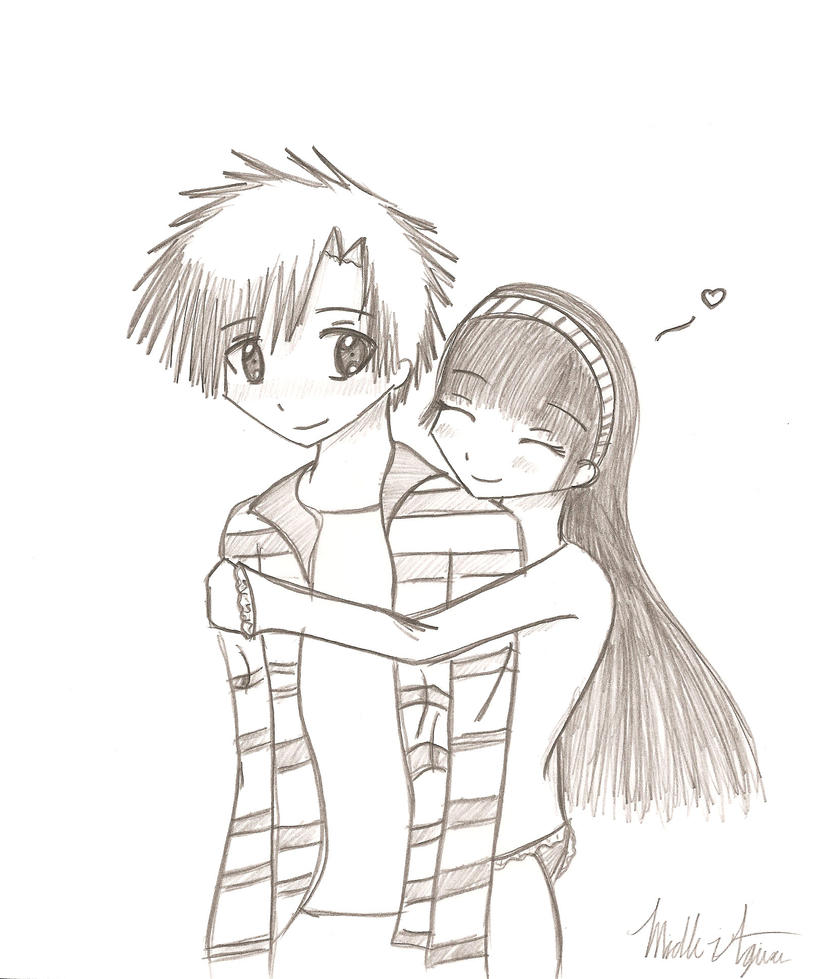 How To Draw Hugging Mit Hillel