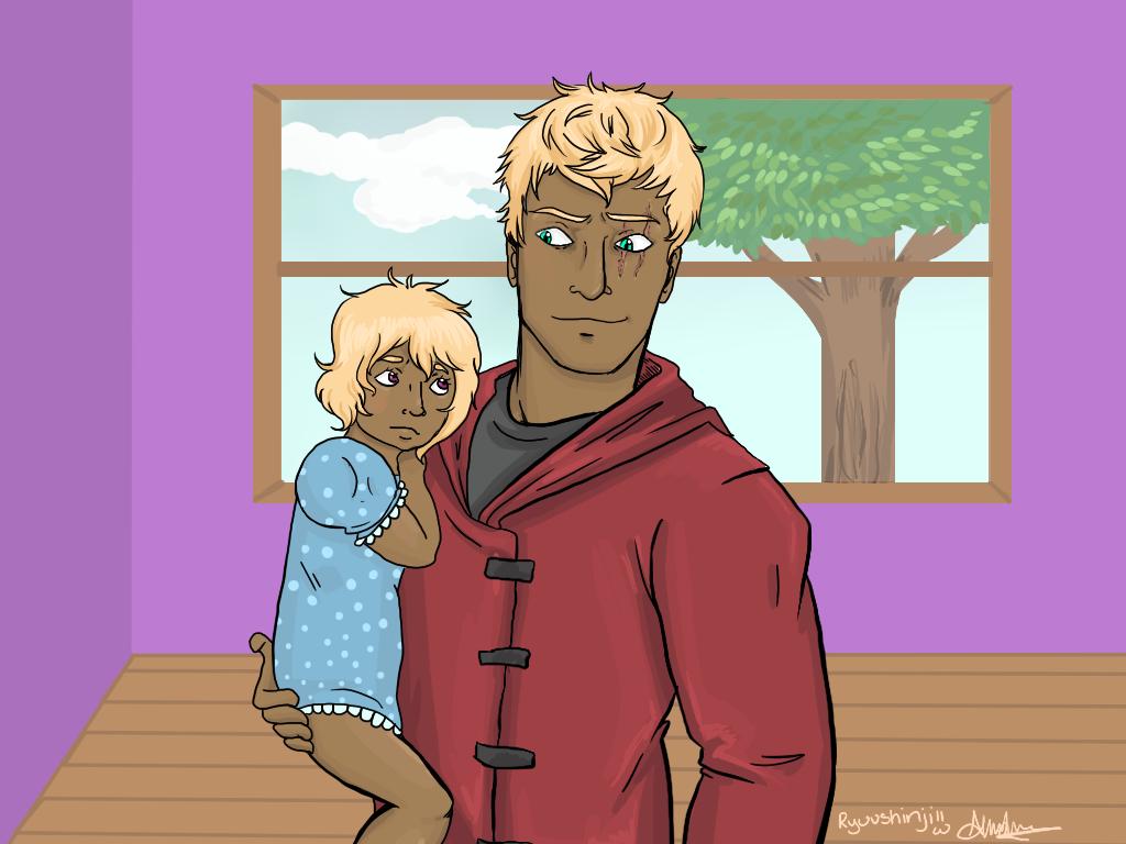 Klaus and baby natalie by ShinjiRyuu