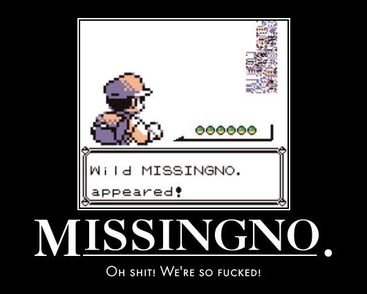 MissingNo. by PyroDarkfire