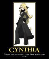 Champion Cynthia Motivator by PyroDarkfire