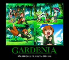 Gardenia has a problem by PyroDarkfire