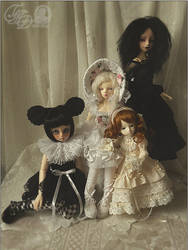 .ladies of the dollhouse. by haitsu