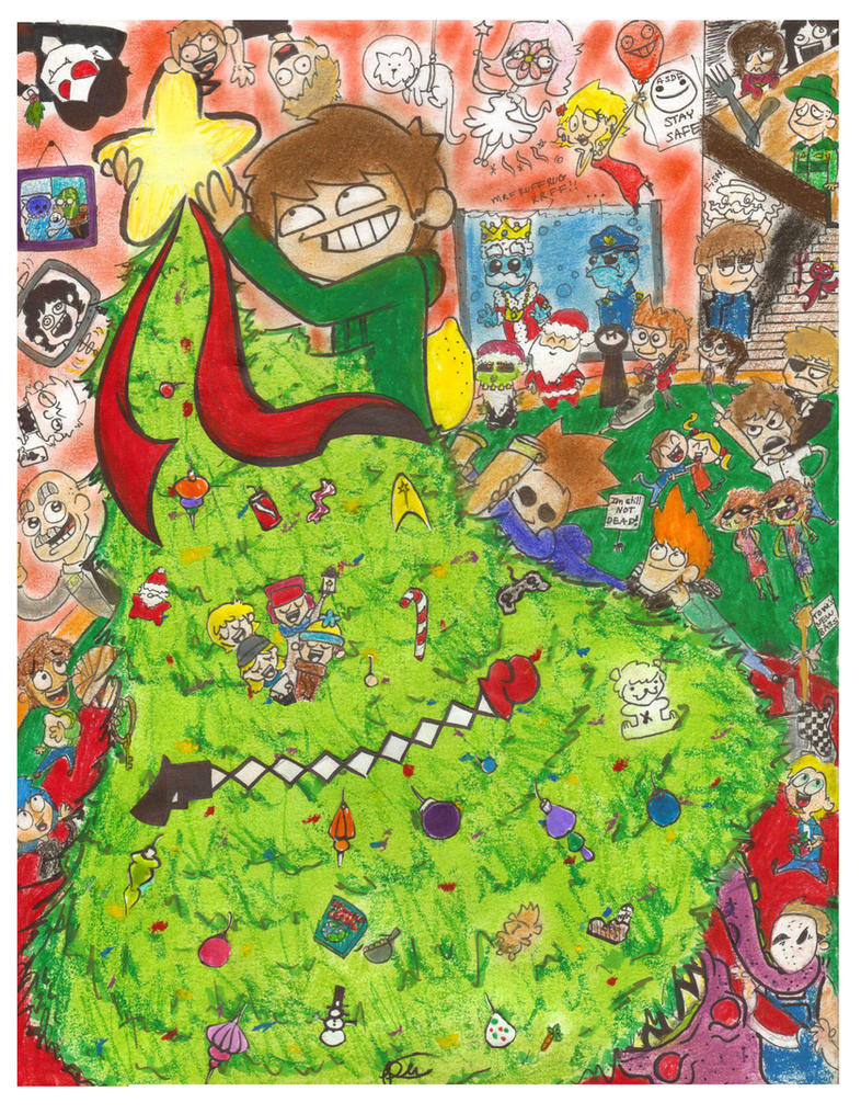Merry Christmas Eddsworld by Elastaronicuted