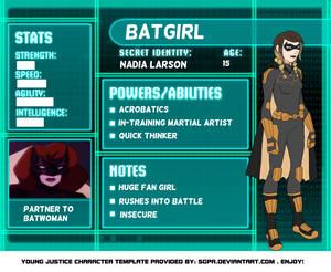 YJO OC: Batgirl