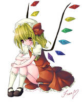 lonely Flandre Scarlet is lonely