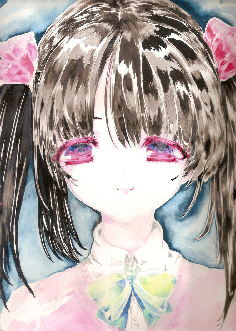 first watercolor nico by Subiculum