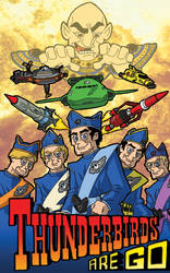 Thunderbirds Are Go by superleezard