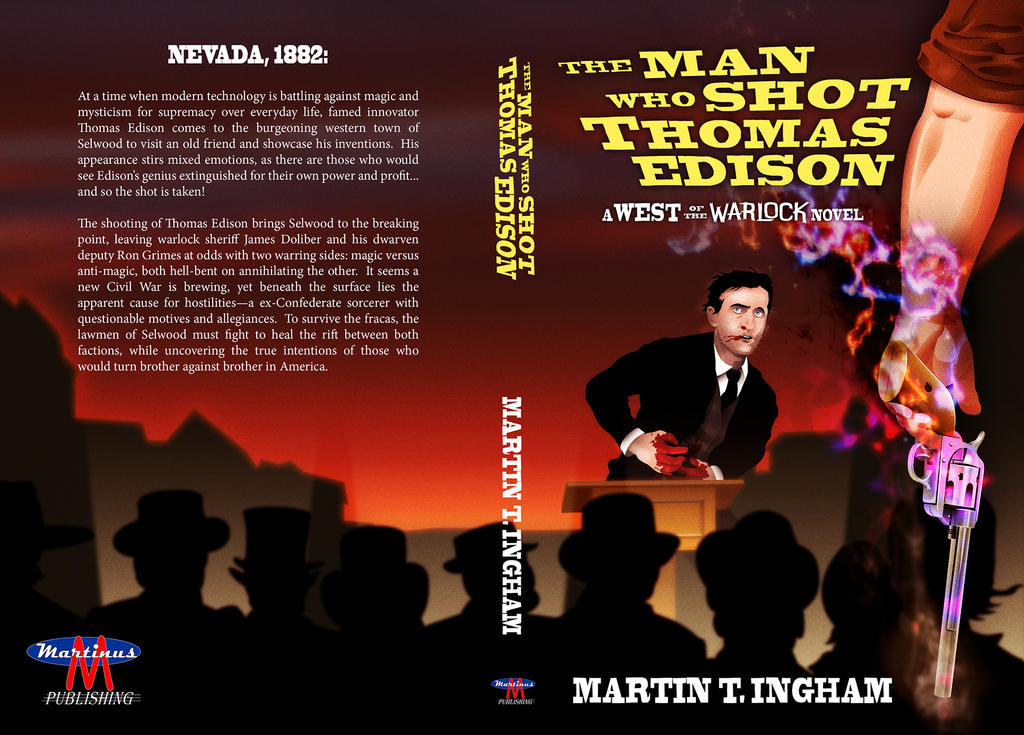 The Man Who Shot Thomas Edison Cover by superleezard