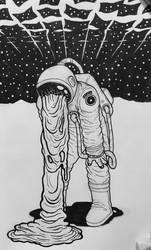 Inktober 2018 - Otherworldly by superleezard