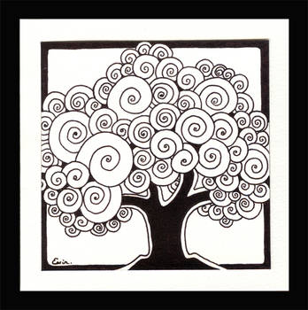 Family trees with ink by EerinVink