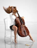 Cello Solo by Protozoon75