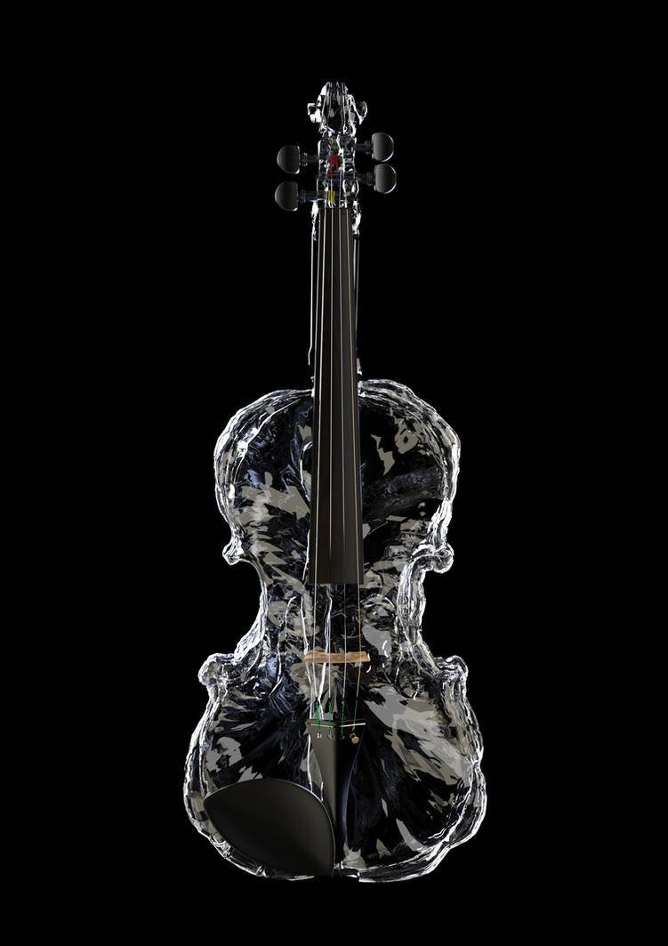 Ice Violin by Protozoon75