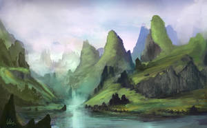 Angol-Li River by Concept-Cube