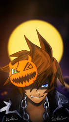 Halloween Town Sora Coloured by EpicKLF