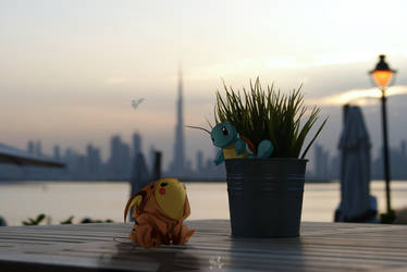 Bringing pokemon on a date by EpicKLF