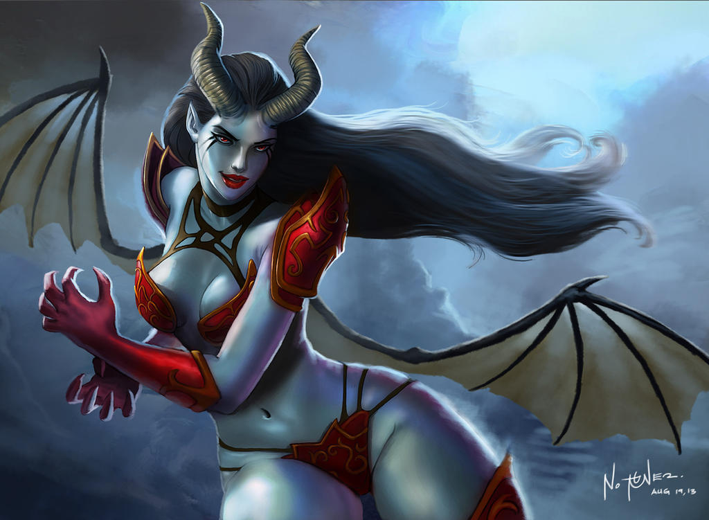 possible concept and insperation of evelynn