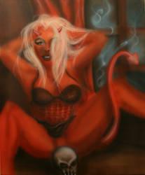 devil woman by b-r-a-i-n-i