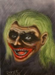 joker head by b-r-a-i-n-i