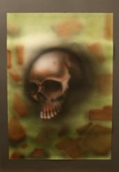 skull by b-r-a-i-n-i