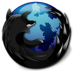 Blue and Black: Firefox