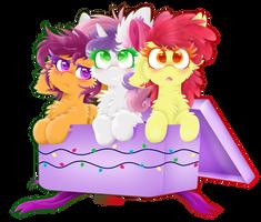 (Speedpaint)The Sweetest Presents!(Redraw)