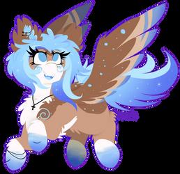 [Commission] Flying Glitter Pone by VanillaSwirl6